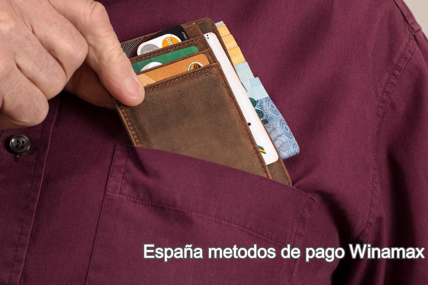 España metodos de pago Winamax